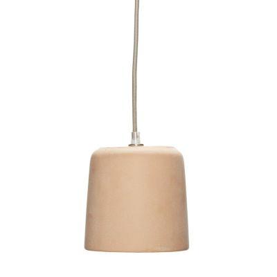 LAMPA WISZ¡CA BETONOWA br±zowa HUbsch