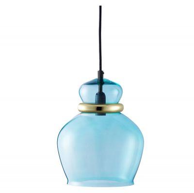 LAMPA WISZ¡CA Squeeze du¿a niebieska Bolia