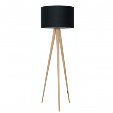 LAMPA POD£OGOWA HEAVY WOOD + BLACK