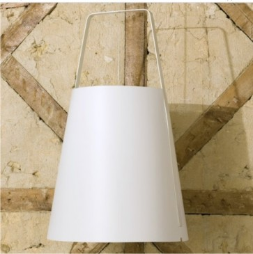 LAMPA WISZ¡CA LEAF L WHITE