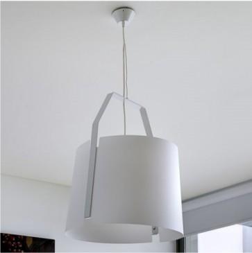 LAMPA WISZ¡CA LEAF M WHITE