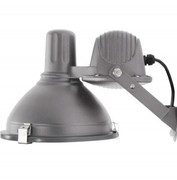 INDUSTRIAL GREY WALL LAMP NORR 11