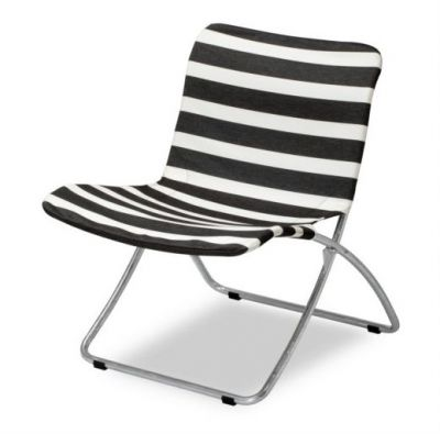 Lise Sunchair Black Stripes Skagerak