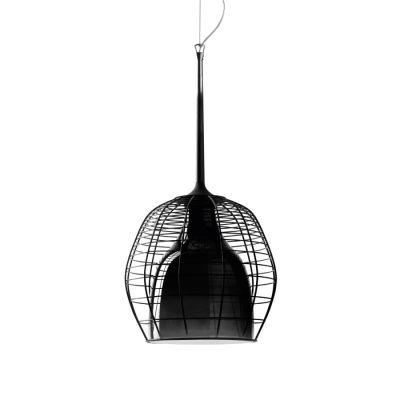 CAGE PICCOLA PENDANT LAMP BLACK Diesel&Foscarini