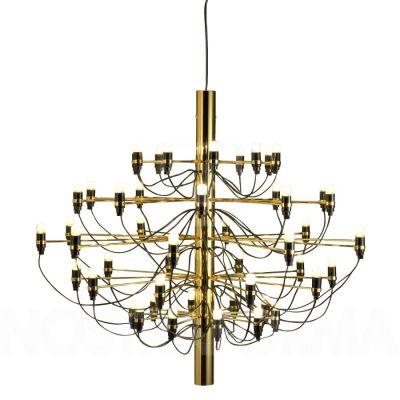 2097-50 brass pendant lamp Flos