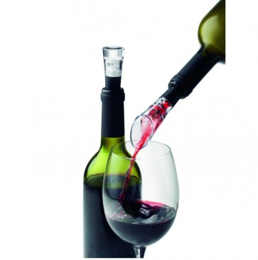 WINESET W. DECANTING POURER & VACUUM STOPPER SELECTION MENU