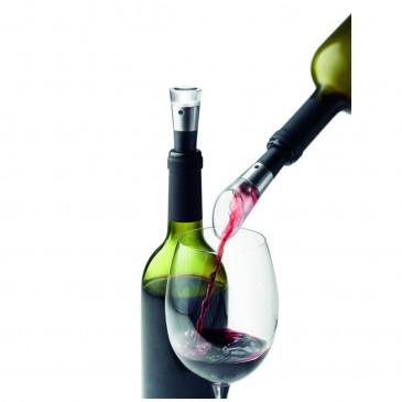 Nalewak do wina i korek próżniowy VIGNON MENU