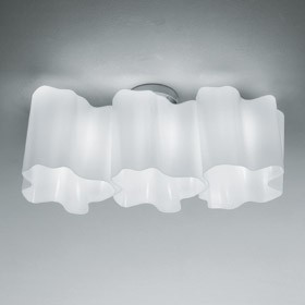 CEILING LAMP LOGICO SOFFITO 3 IN LINEA ARTEMIDE