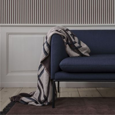 PLED CHECKED BEŻOWY FERM LIVING