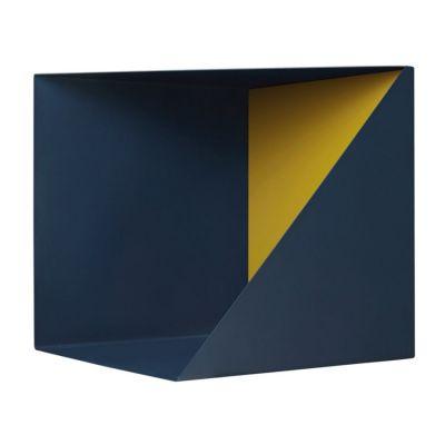 PÓ£KA WALL BOX GRANATOWO-¿ó³ta Please Wait to be Seated