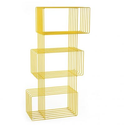 BOOKCASE BITRO YELLOW