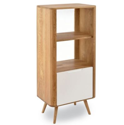 GLOS OAK SHELF 60X42X125 CM