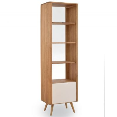 OAK SHELF GLOS 60X42X196 CM