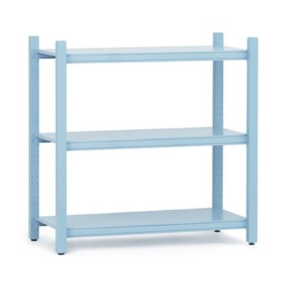 WORK BOOKCASE LOW MODULE CLOSED BLUE NORMANN COPENHAGEN