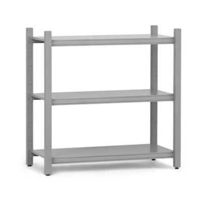 WORK BOOKCASE LOW MODULE CLOSED GREY NORMANN COPENHAGEN