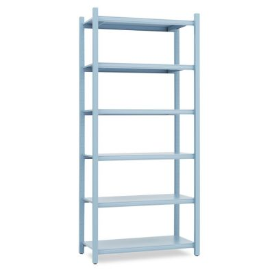 WORK BOOKCASE HIGH CLOSED MODULE BLUE NORMANN COPENHAGEN