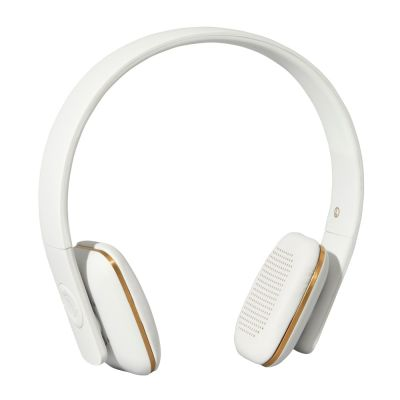 AHEAD WHITE-GOLD KREAFUNK WIRELESS HEADSETS