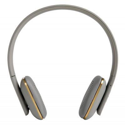 WIRELESS HEADPHONES AHEAD GREY-GOLD KREAFUNK
