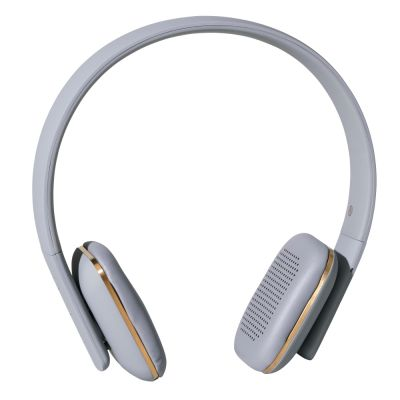 WIRELESS HEADPHONES AHEAD GREY-GOLD KREAFUNK