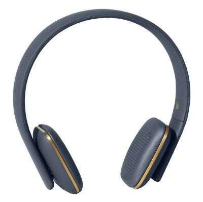 WIRELESS HEADPHONES AHEAD BLUE-GOLD KREAFUNK