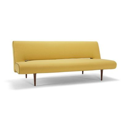 SOFA ROZK£ADANA UNFURL SOFT MUSTARD FLOWER INNOVATION