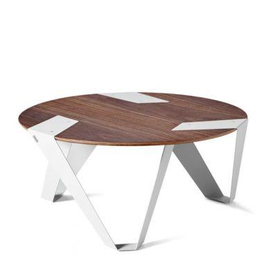 COFFEE TABLE MOBIUSH GREY GREY-ORZECHOWY TABANDA
