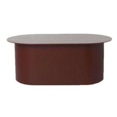 PODIA COFFEE TABLE RED BROWN FERM LIVING