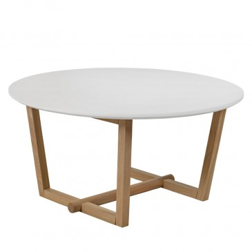 COFFEE TABLE HORTEN WHITE 90