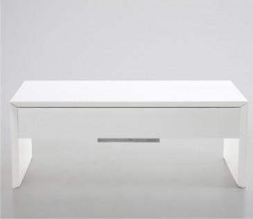 STOLIK KAWOWY METRO LIFT WHITE 120x60