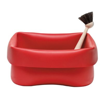 Washing-up Bowl & Brush red NORMANN COPENHAGEN