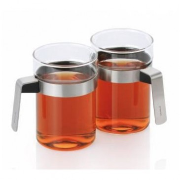 SENCHA A GLASS WITH BASKET 2/SET BLOMUS