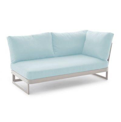 Sofa ogrodowa 2os lewa Sue niebieska