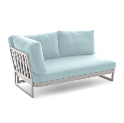 Sofa ogrodowa 2os prawa Sue niebieska