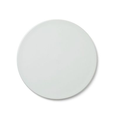 COVER PLATE NEW NORM SMOKED WHITE 17.5 CM MENU