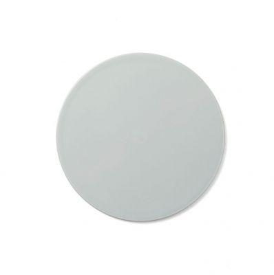 COVER PLATE NEW NORM SMOKED WHITE 21.5 CM MENU