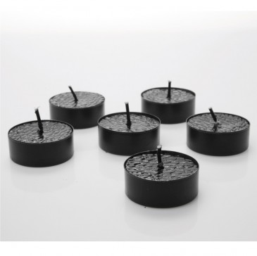 TEALIGHT CITY BLACK