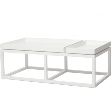TRAY COFFEE TABLE WHITE NORR 11