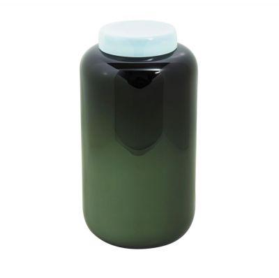 WAZON CONTAINER BLACK-CELADON GREEN PULPO