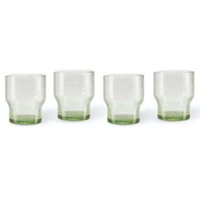 Zestaw 4 szklanek bubbles pols potten