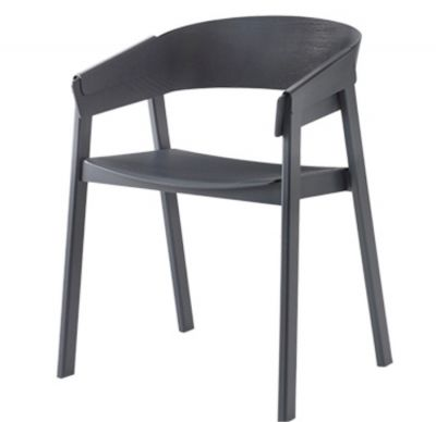 COVER CHAIR ANTHRACITE MUUTO