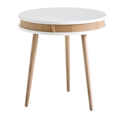 OCCASIONAL TABLE ARIEL WHITE/OAK