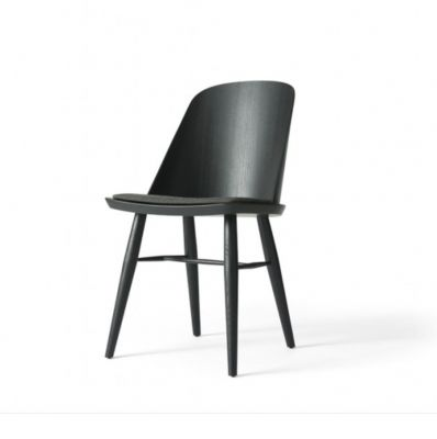 SYNNES CHAIR BLACK ASH TREE WITH THE WOOL SEAT MENU