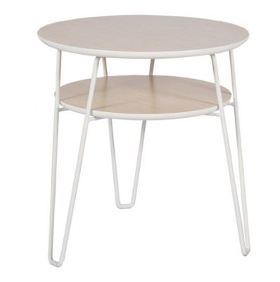 OCCASIONAL BROS WHITE TABLE