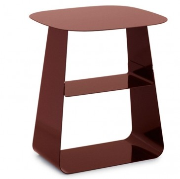 Stolik Stay Table 40x40 cm Normann Copenhagen Burgundy