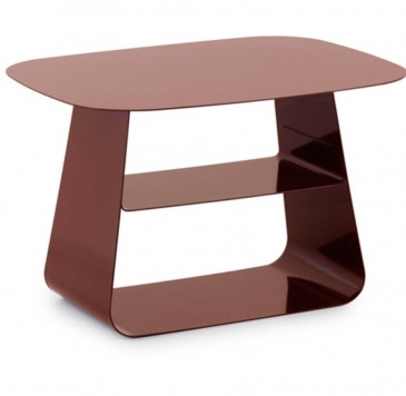 Stolik Stay Table 40x52 cm Normann Copenhagen Burgundy