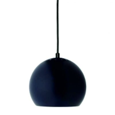 LAMPA WISZĄCA BALL CIEMNONIEBIESKA MATOWA 18 CM FRANDSEN