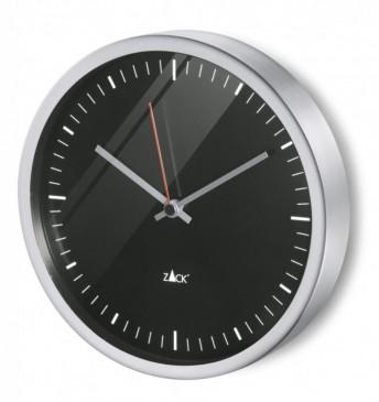 DURATA zegar wiszący czarna tarcza śr.24 cm ZACK