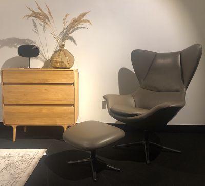 fotel obrotowy frej z podnó¿kiem