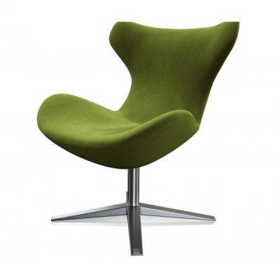 fotel obrotowy colli zielony miotto