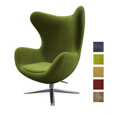 fotel obrotowy poeti zielony miotto
